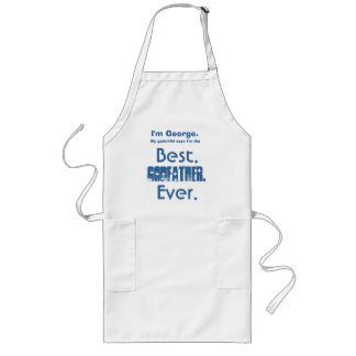 Custom Name Best Godfather Ever V01A Long Apron