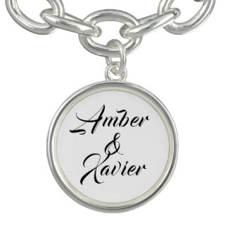 Custom Name charm bracelet