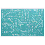 Custom Name & Colour fabric