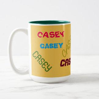 CUSTOM NAME DECO COFFEE MUG