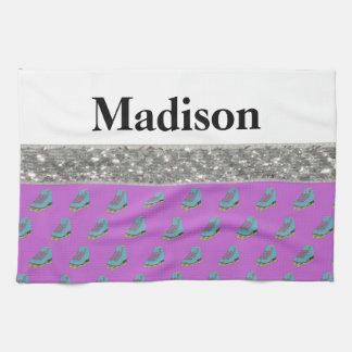 Custom Name Figure Skating Wipe Towel