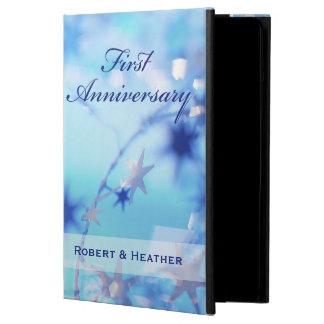 Custom Name, First Wedding Anniversary Sparkle iPad Air Case
