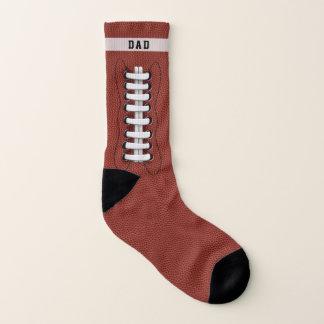 Custom Name Football Touchdown Socks