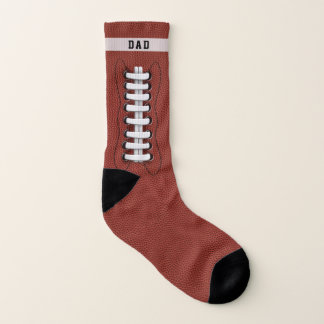 Custom Name Football Touchdown Socks 1