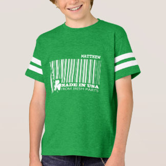Custom Name Fun St.Patrick's Day Kids' T-Shirts