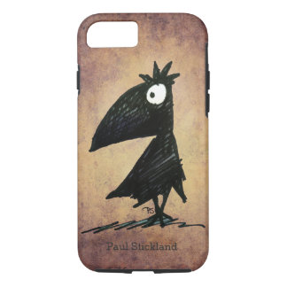 Custom Name Funny Black Crow/Raven iPhone 7 Case