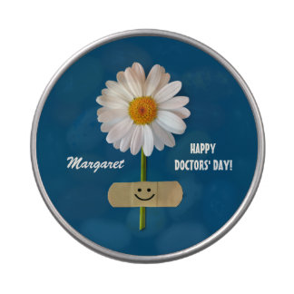 Custom Name. Happy Doctors' Day Gift Candy