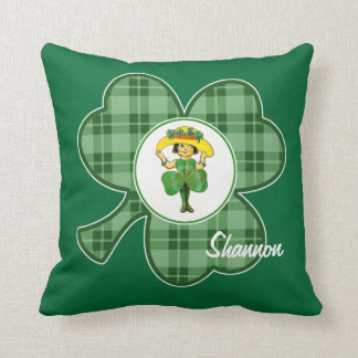 Custom Name. Irish Princess Gift Pillows