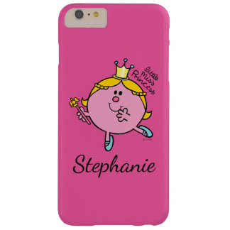 Custom Name Little Miss Princess   Royal Scepter Barely There iPhone 6 Plus Case