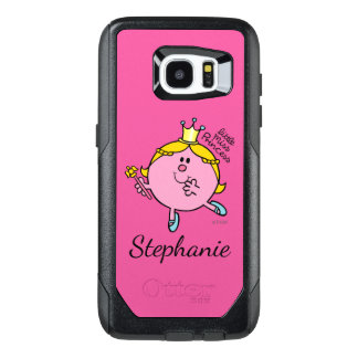 Custom Name Little Miss Princess | Royal Scepter OtterBox Samsung Galaxy S7 Edge Case