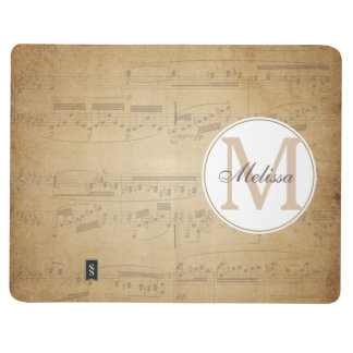 Custom Name Music Notebook Journals