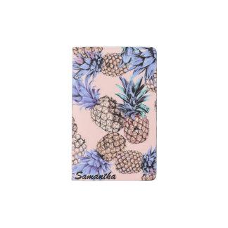 Custom Name Pineapple Notebook