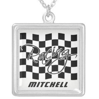Custom Name Racing necklace