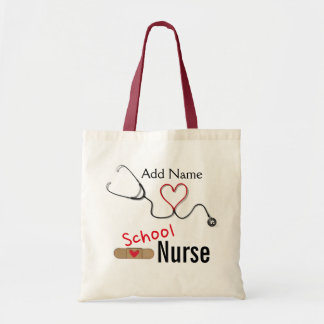 Custom Name School Nurse's Tote