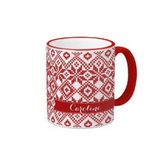 Personalized Christmas Coffee & Travel Mugs | Zazzle Canada