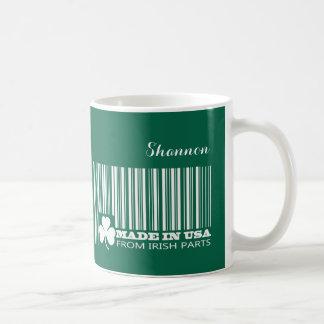 Custom Name St. Patrick's Day Fun Gift Mugs Basic White Mug