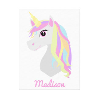 Custom Name Unicorn Room Decor
