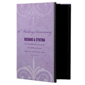 Custom Names, 50th Wedding Anniversary to Couple iPad Air Cover