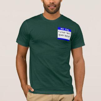 Custom Nametag T-Shirt