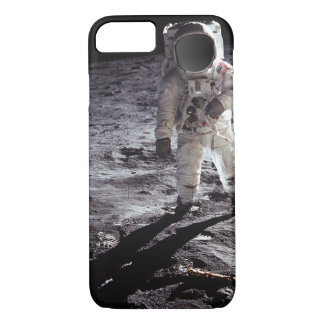 Custom Nasa Astronaught on moon iPhone 8/7 Case