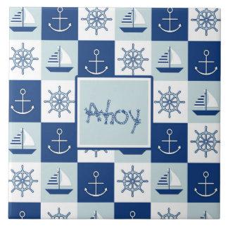Custom Nautical Tiles
