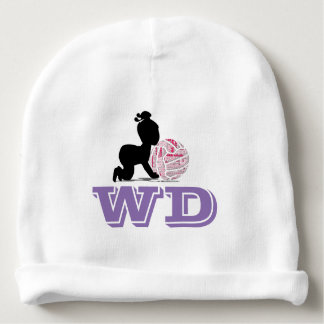 Custom Netball Player Position Theme Baby Beanie