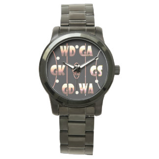 Custom Netball Player Positions Themed Watch