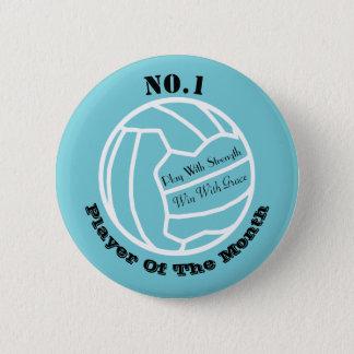 Custom Netball Player Reward Pin Badge