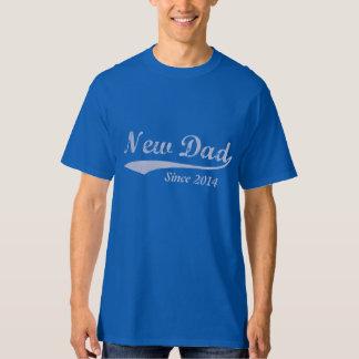 Custom New Dad Tee Shirt