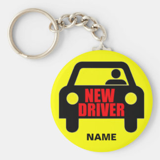 Custom New Driver Safety Keychain