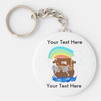 Custom Noah's Ark Keychain