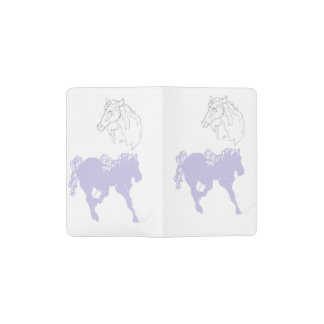 Custom Notebook - Pocket/ Horses