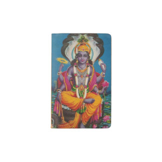 Custom Notebook with the image of Vishnu