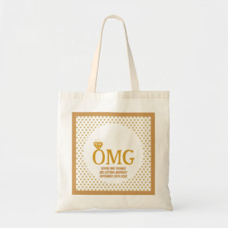 "CUSTOM ""OMG"" SAVE THE DATE 