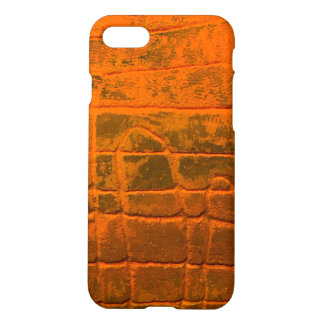 Custom Orange Texture Pattern Case  IPhone 7/8