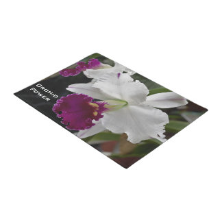 Custom Orchid Power Door Mat