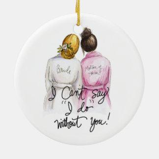 custom order 1 ceramic ornament