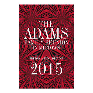 ::CUSTOM ORDER:: Adams Family Reunion Party Flyer
