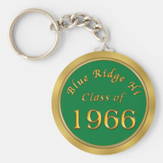 Custom Order Class Reunion Keychains Your School