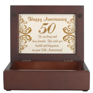 Custom Order Your Anniversary Keepsake Box