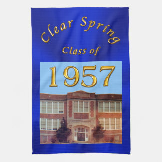Custom Order Your School Reunion Gifts Kitchen Towel