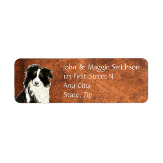 Custom Original Watercolor Border Collie Dog pet