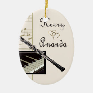 Custom Ornament for Kerry and Amanda