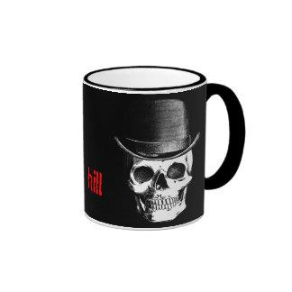 Custom Over the Hill Birthday Mug