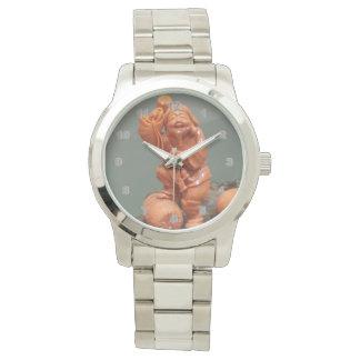 Custom Oversized Silver Bracelet men's watch