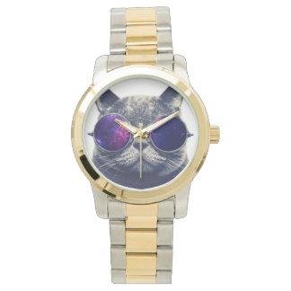 Custom Oversized Two-Tone Bracelet Wristwatches