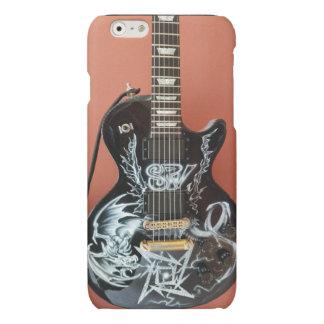 Custom Painted Guitar Phone Cover