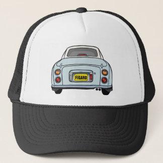 Custom Pale Aqua Nissan Figaro Trucker Cap Trucker Hat