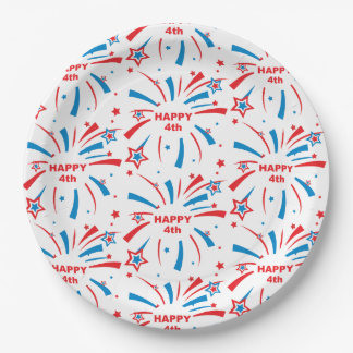 "Custom Paper Plates 9"""