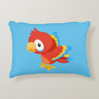 Custom Parrot Accent Pillow